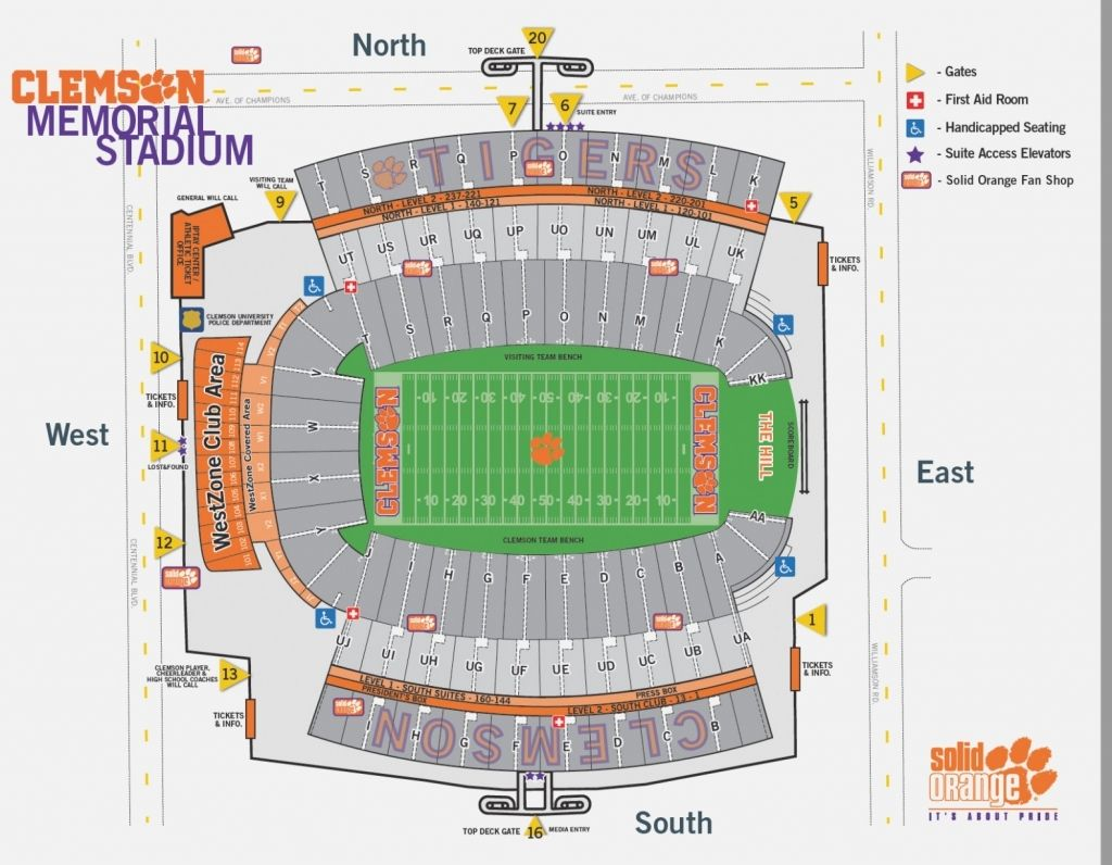 Clemson Football Schedule & Tickets