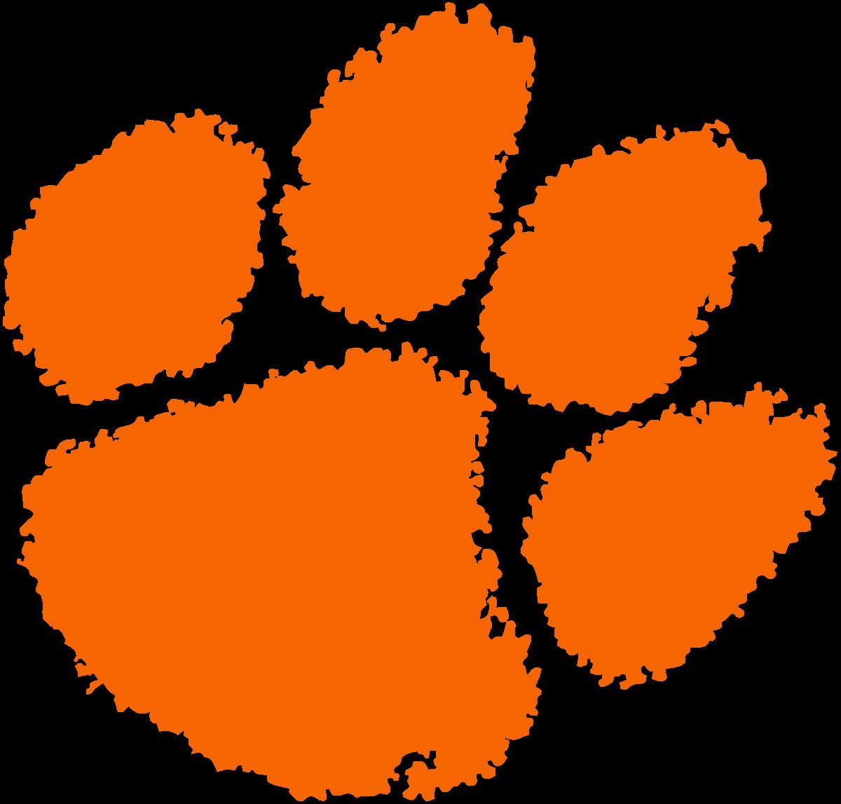 Clemson Tigers Football Logo