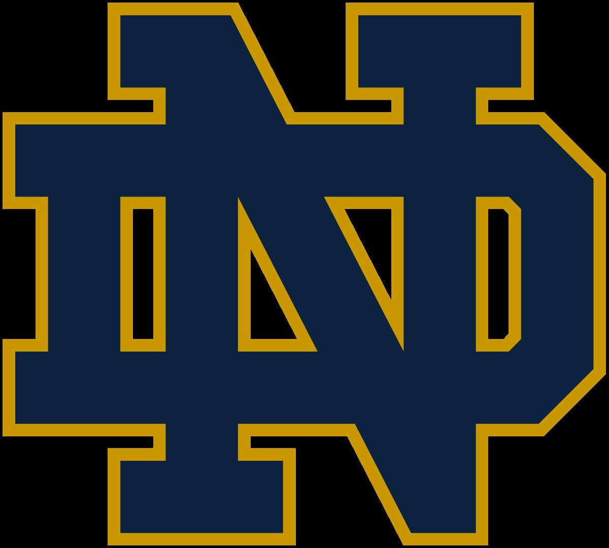 Notre Dame Fighting Irish Football Logo